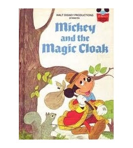 Mickey and the Magic Cloak...