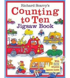 Counting To Ten (Jigsaw Book)