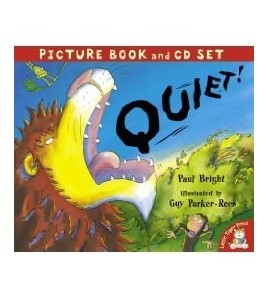 Quiet! (Book & Cd)