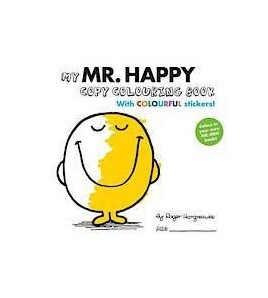 My Mr. Happy Copy Colouring...