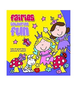 Fairies Colouring Fun