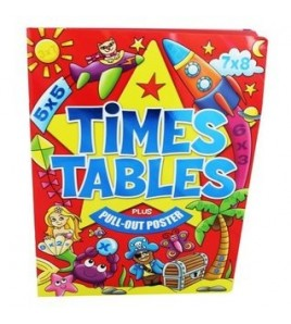 Times Tables With Pull Out...