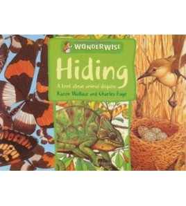 Hiding: A book about animal...