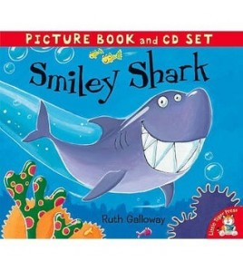 Smiley Shark (Book & Cd)