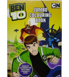 Ben 10 Jumbo Colouring Book