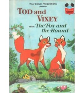 Tod and Vixey from The Fox...