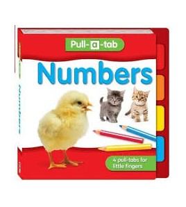 Numbers Pull-a-tab