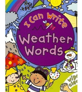 I Can Write Weather Words