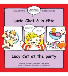 Lucy Cat at the Party/Lucie...