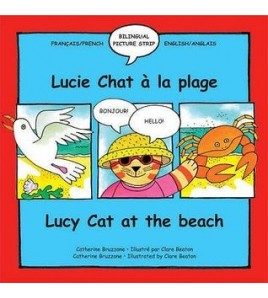 Lucy Cat at the Beach/Lucie...
