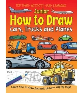 Junior How to Draw Cars,...