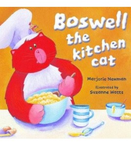 Boswell the Kitchen Cat