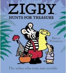 Zigby Hunts for Treasure