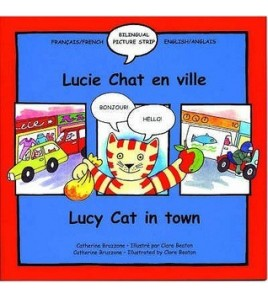 Lucy Cat in Town/Lucie Chat...