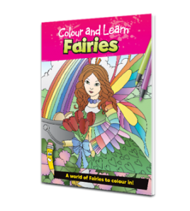 colour and learn Fairies